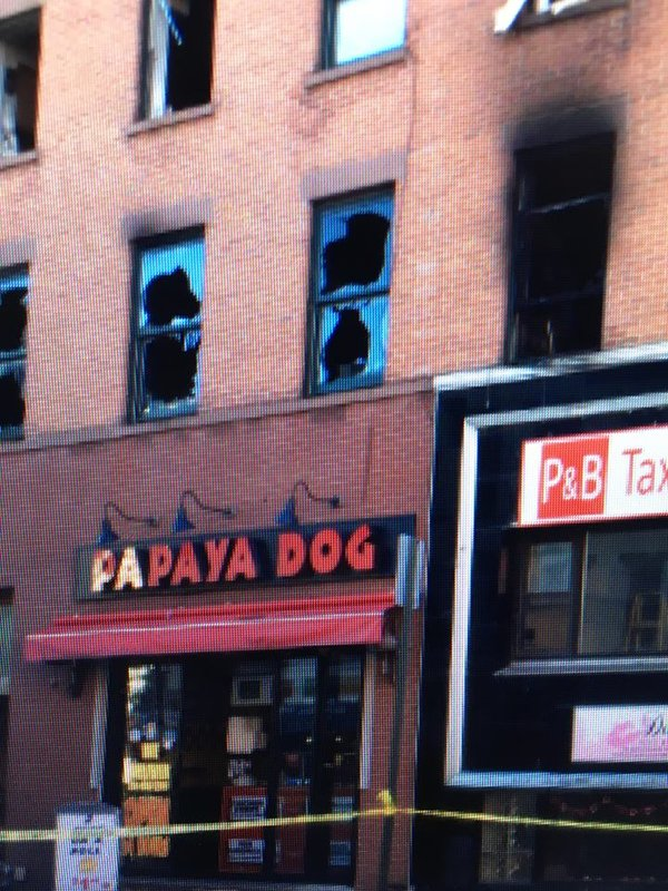 1 cat killed, 1 officer injured, no residents injured in Hoboken fire