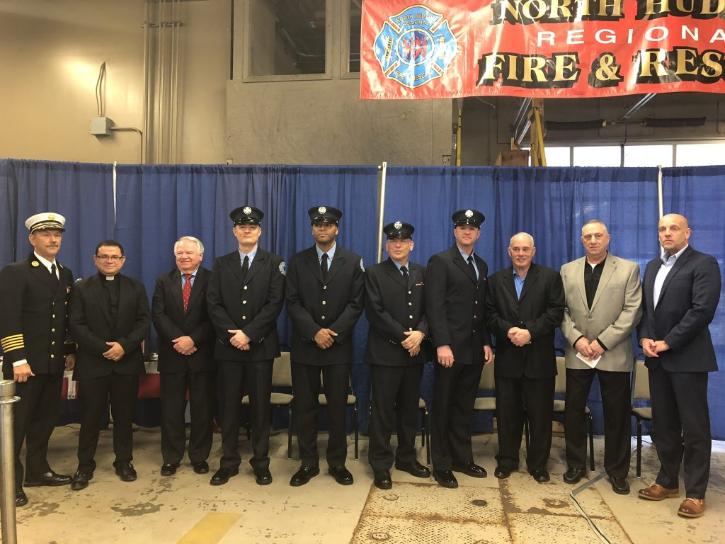 3e04ed6f6d8 Four firefighters promoted to Captain - Hudson Reporter