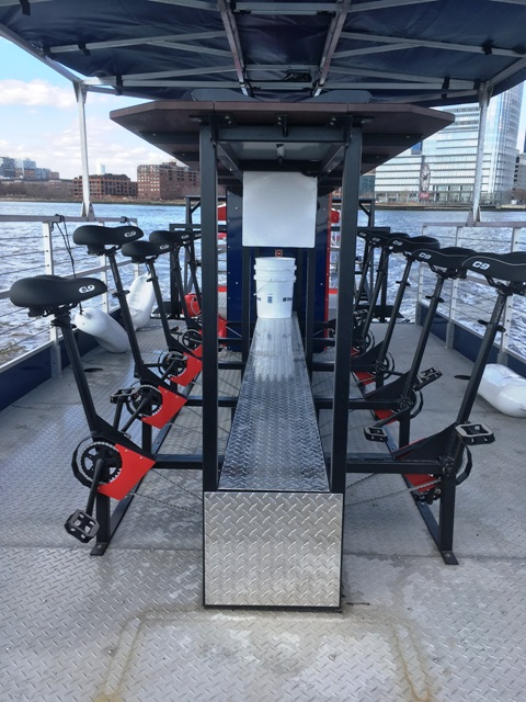 Pedal Power on the Hudson River?