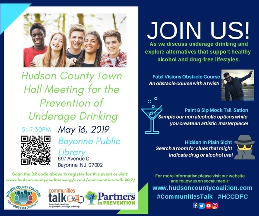 Hudson County Town Hall Meeting for the Prevention of Underage Drinking