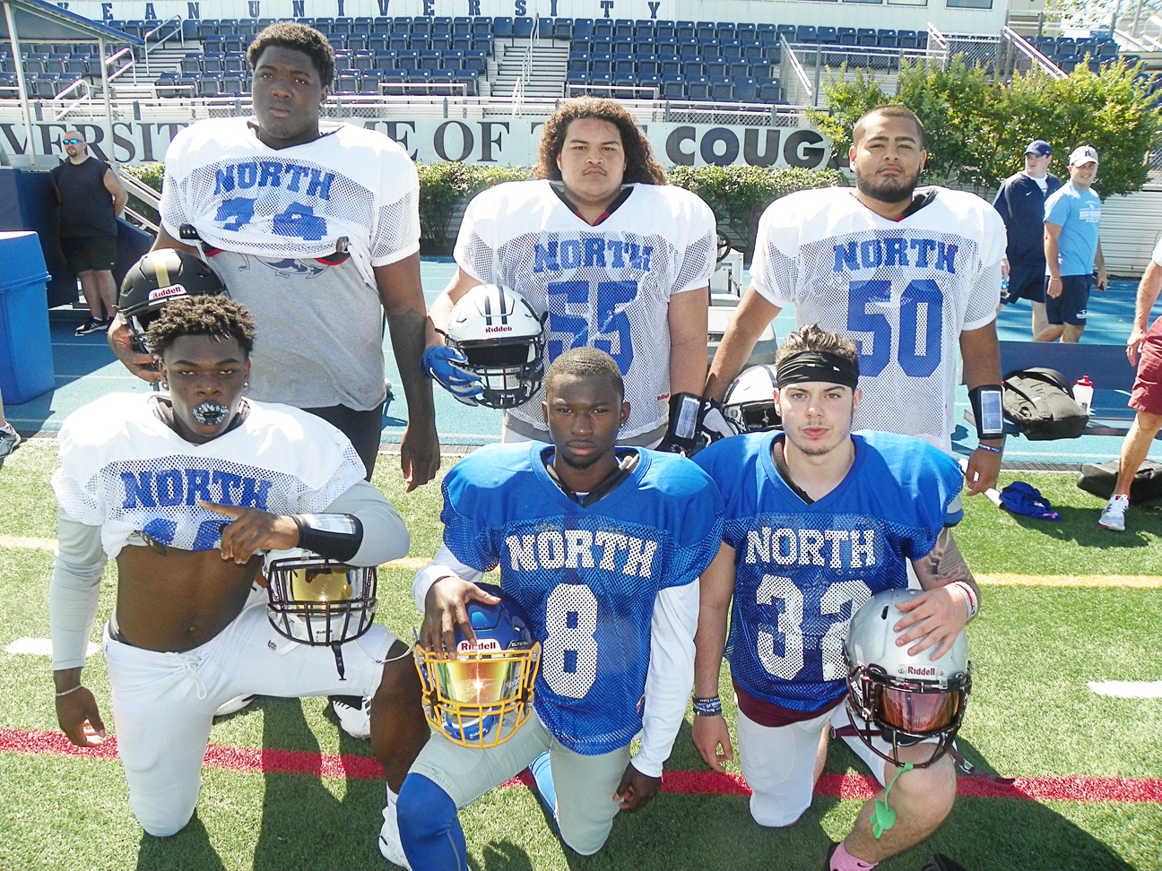 Strong showing from Hudson grid All-Stars in North's 24-23 victory