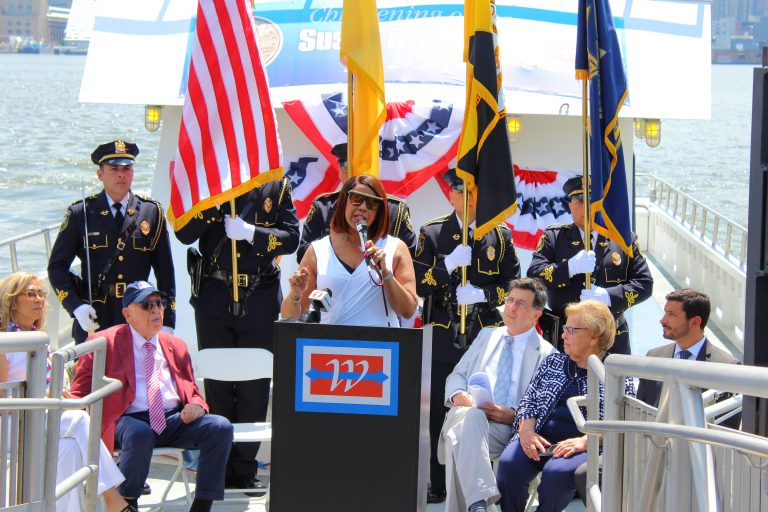 'Susan B. Anthony' joins the fleet