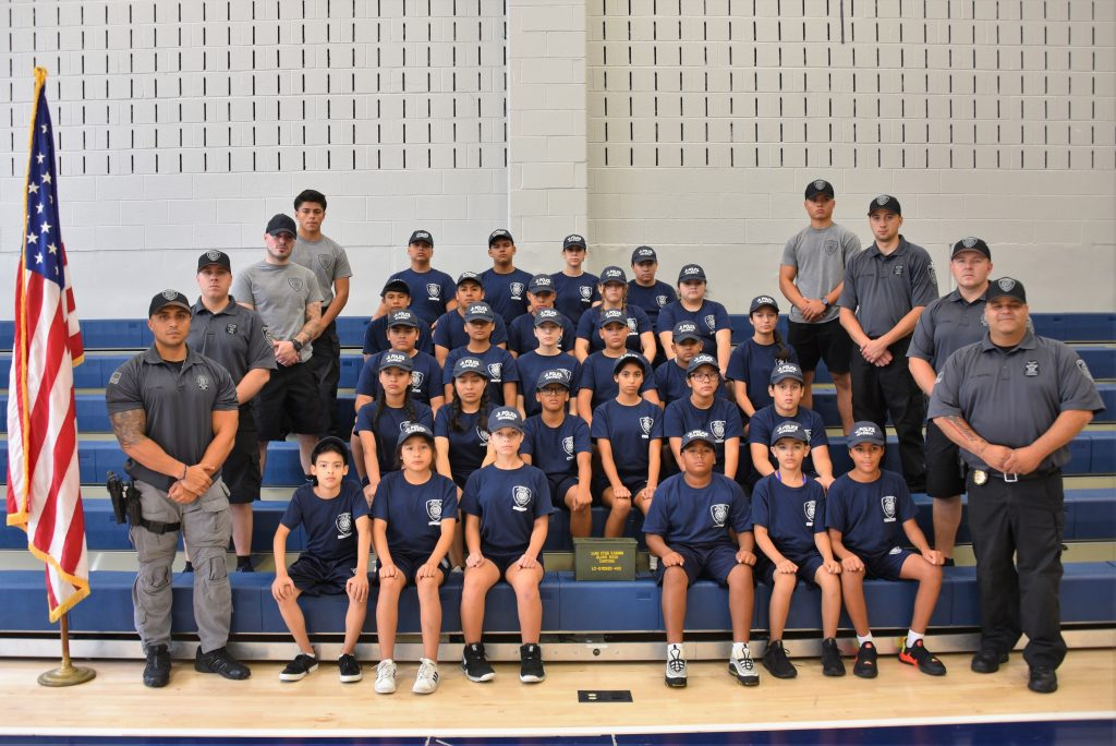 Guttenberg's Junior Police Academy was action-packed