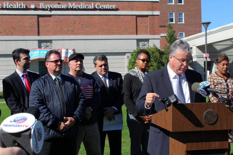 Will Bayonne Medical Center flatline?