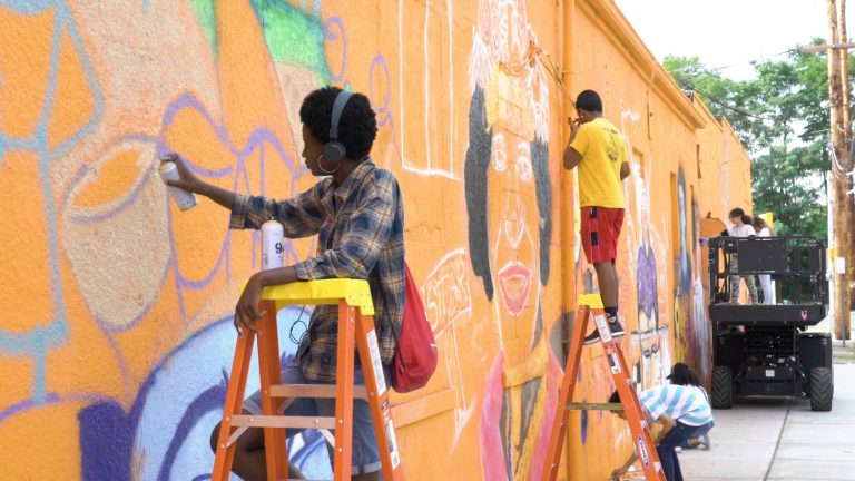Heroes of the World: JCTC Gallery Showcases Greenville Mural and Artists