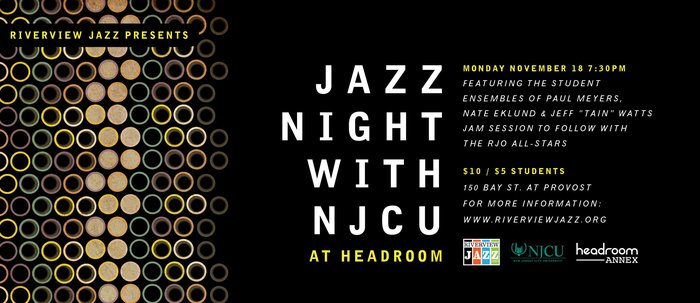 Jazz with NJCU and RJO at Headroom