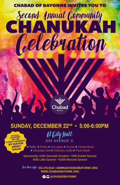 Annual Community Chanukah Celebration