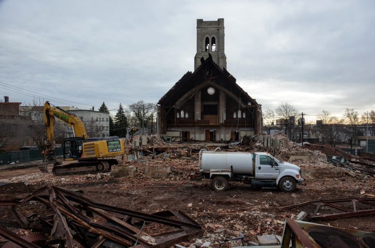 St. Joseph's Syriac Cathedral demolished for redevelopment