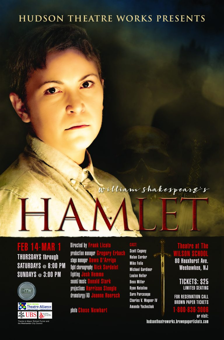 Hudson Theatre Works presents Shakespeare's 'Hamlet'
