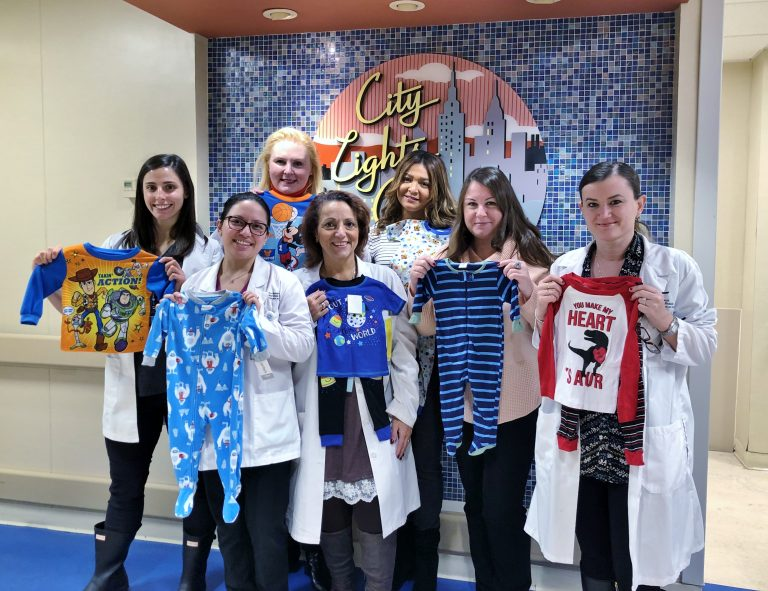 Hackensack Meridian Palisades Medical Center Employees Donate Pajamas for Local Children