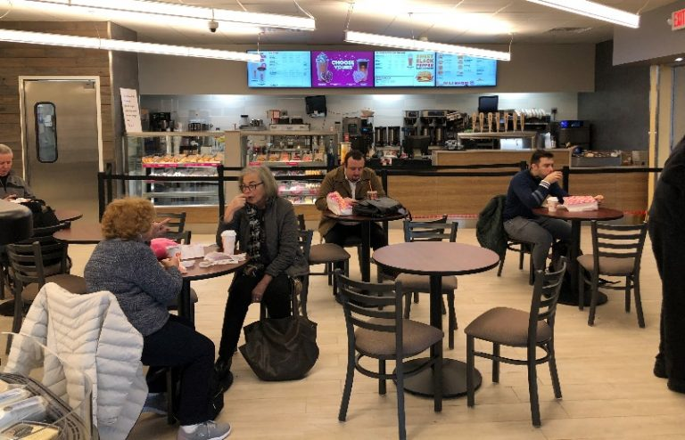Newsstand and coffee shop upgraded at Secaucus Junction Station