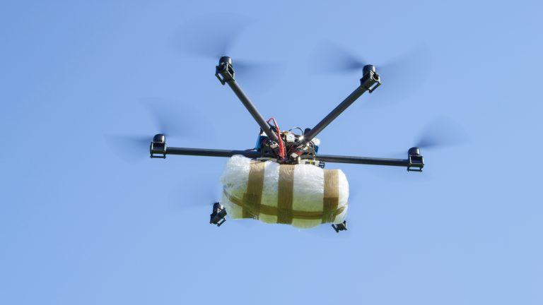 Union City man at large after alleged drone drug drops