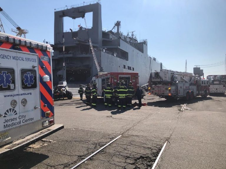 Industrial worker falls to death at Bayonne Dry Dock