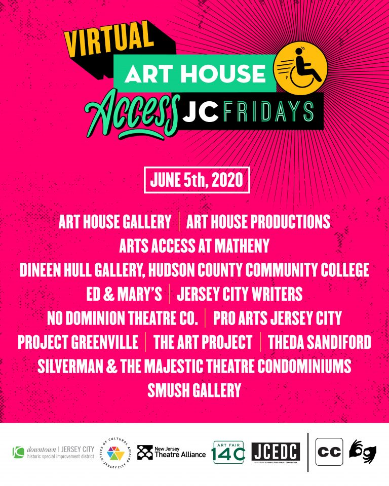 Art House Productions Announces Lineup for Virtual Access JC Fridays on June 5, 2020
