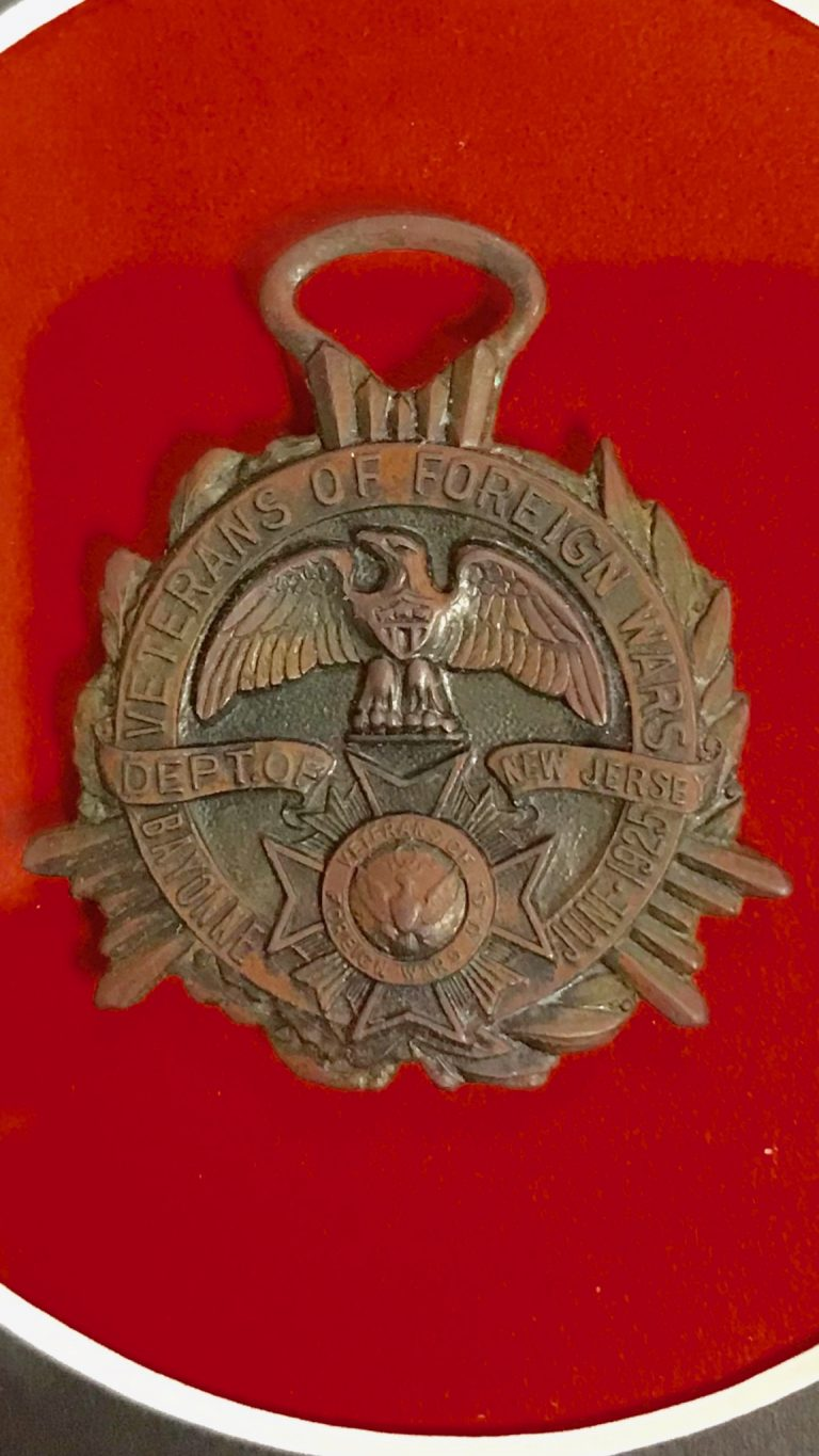 An old VFW medal recalls an industrial tragedy
