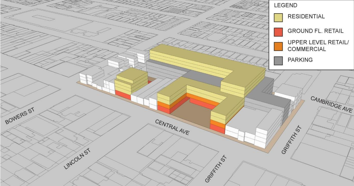400-car parking deck proposed for the Jersey City Heights - Hudson ...