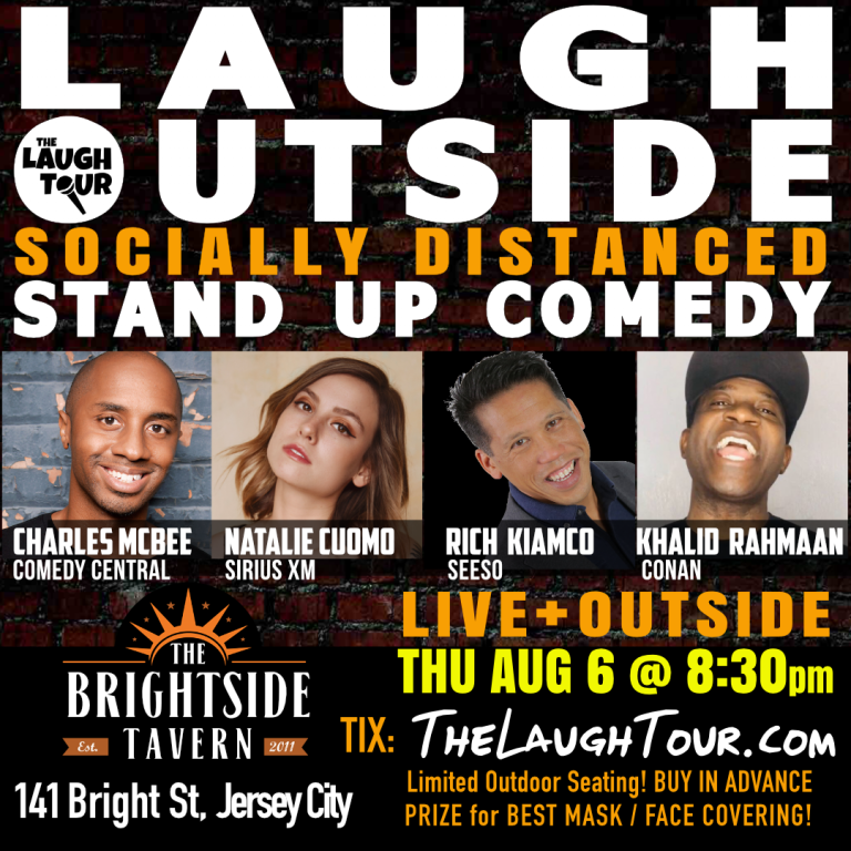 Laugh Outside: Socially Distanced COMEDY @ Brightside Tavern
