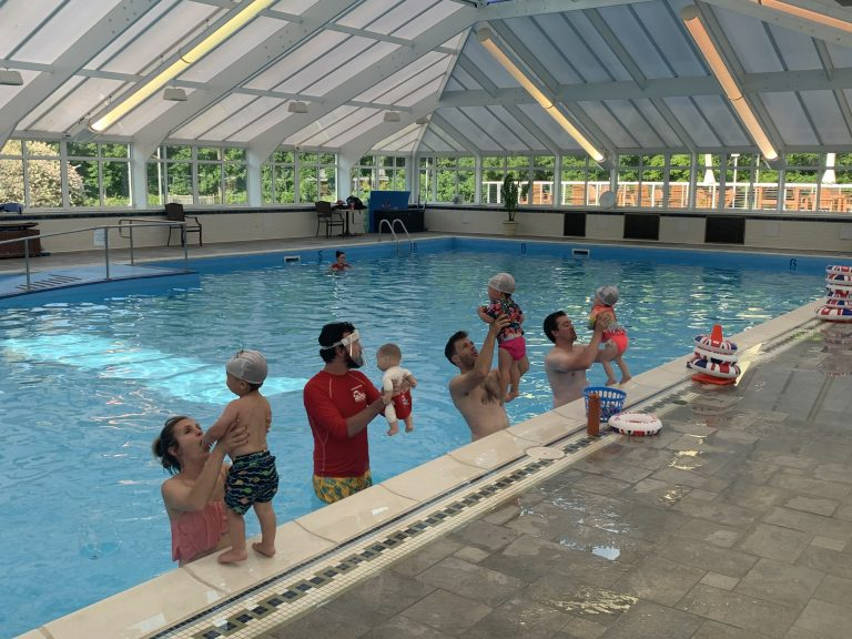 Swimming lessons are on the rise